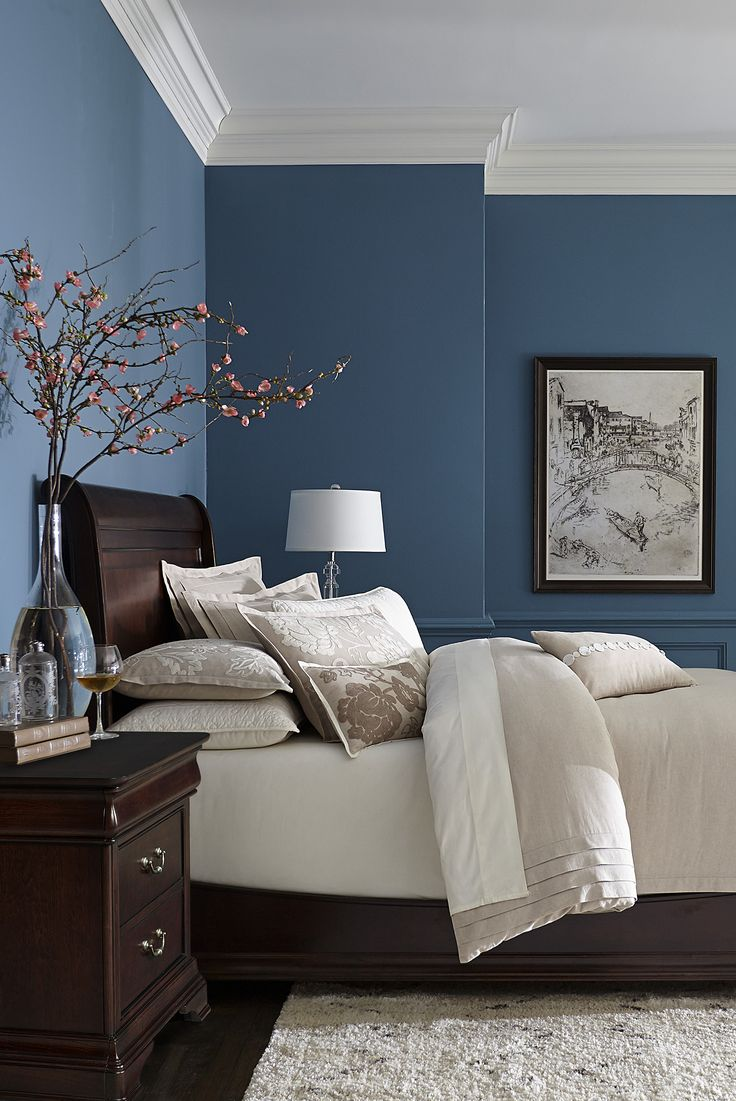 Cozy bedroom colors made with hardwood solids with cherry veneers and walnut inlays, our  orleans ttvymnu
