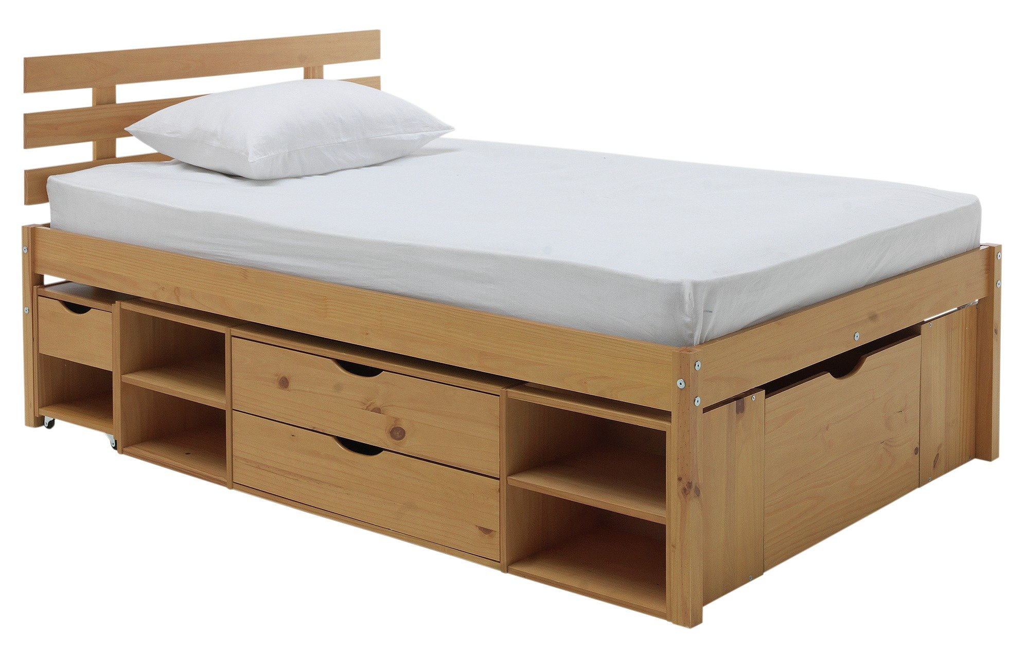 Cozy collection ultimate storage ii double bed frame uidmyqb