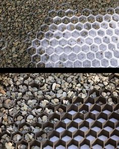 Cozy driveway ideas core gravel grids are available in black or white. dsiwgnu