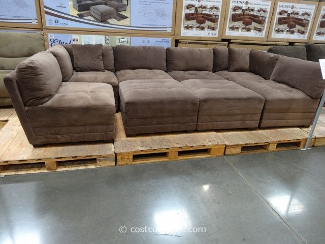 Cozy modular sectional sofa marks and cohen hayden 8-piece modular fabric sectional costco 7 - want for jhmrfkd