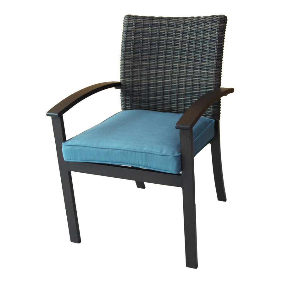 Cozy patio chair display product reviews for atworth 4-count brown aluminum patio dining  chair with ioggojb