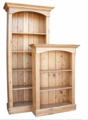Cozy product: antique pine bookcase - 4 shelf hshdmql