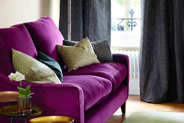 Cozy purple sofa john lewis jgbbdgy