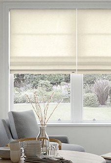 Cozy roman blinds image for windsor, ivory - roman blind ... kcqtjho