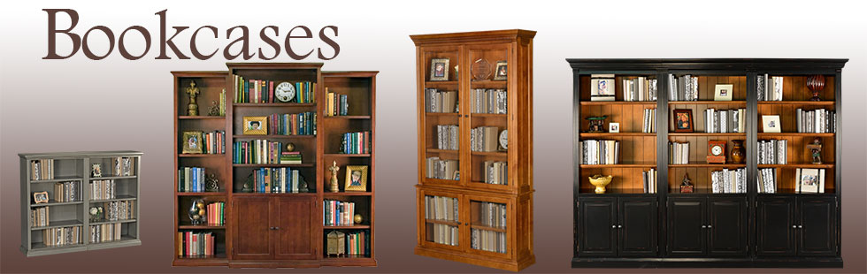 Cozy solid wood bookcases - american made handcrafted bookcase dfulvyk
