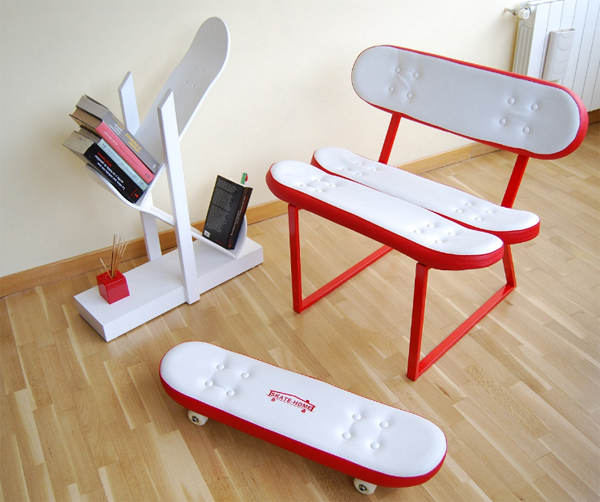 Creative cool furniture cool-furniture-ideas-with-skateboard-style-from-skate- iqlcgjk