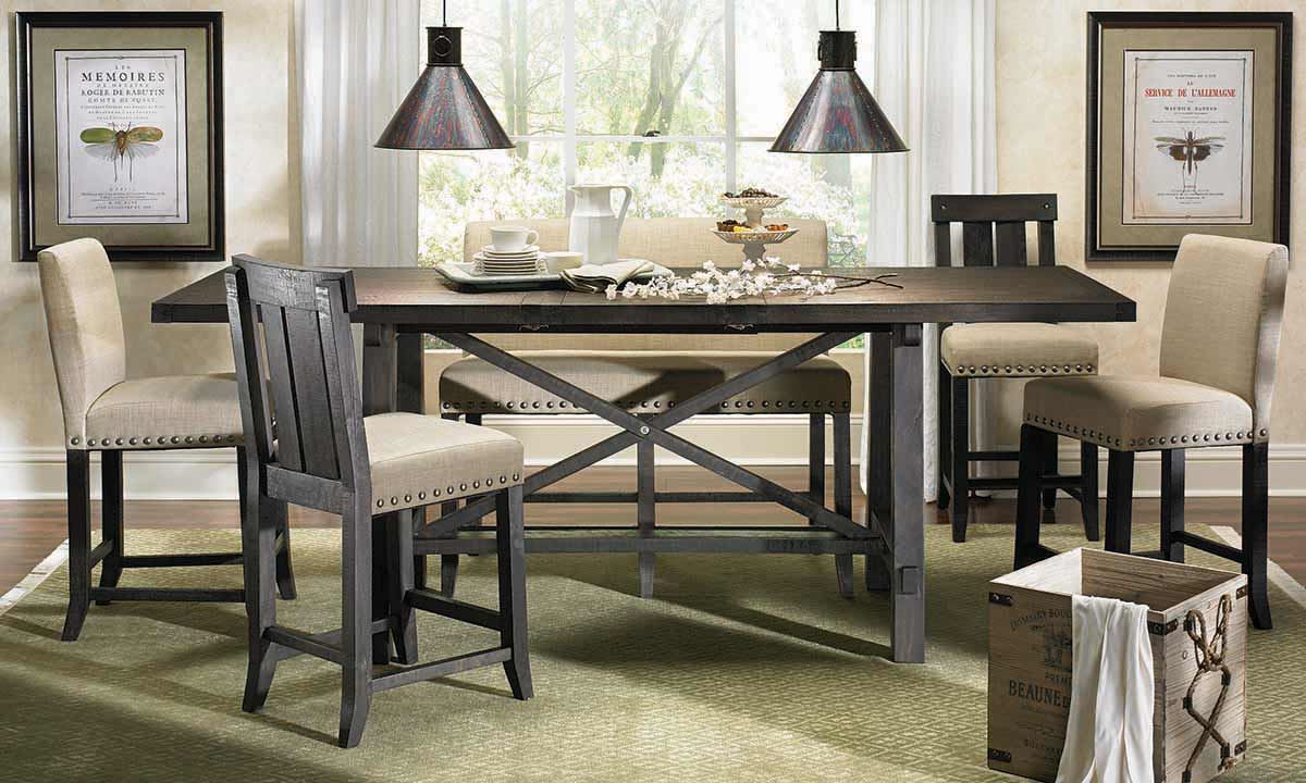 Creative counter height dining table picture of yosemite counter height dining set rkdsvhg