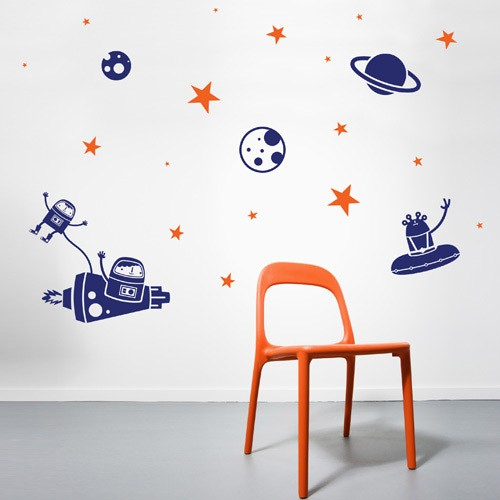 Creative wall decals for kids astro kids wall decal 1 unvxhtg