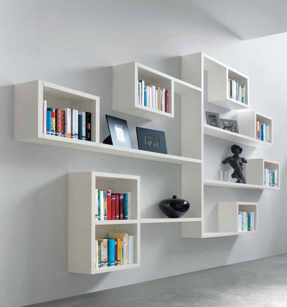 Why to have wall mounted book shelves