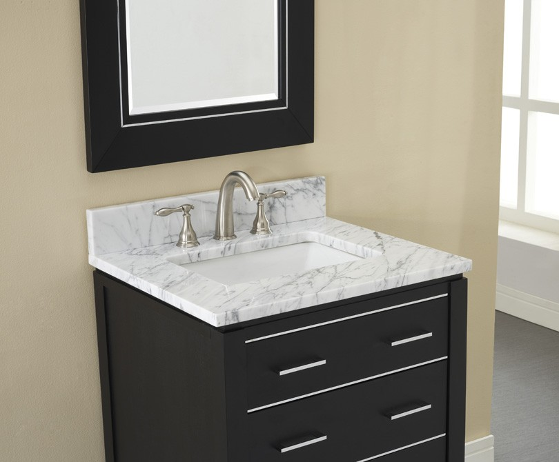 Cute black bathroom vanity ... vanity xylem manhattan 30 tfdcpcm