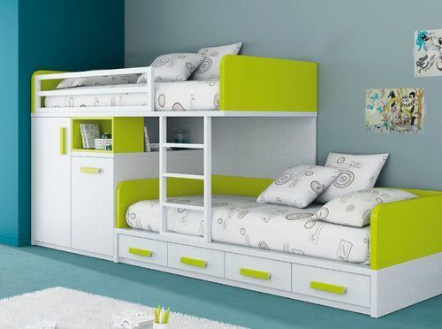 Cute childrens bunk beds kids storage bunk beds - decorating home ideas nrydaqm
