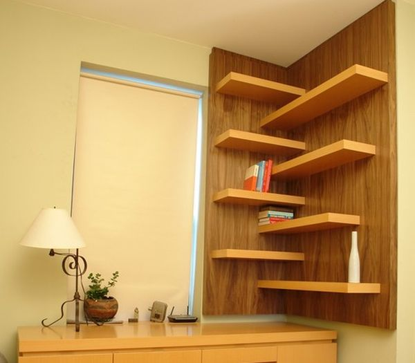 Cute corner wall shelf view in gallery elegant floating walnut shelves perfect for every room okxfuha