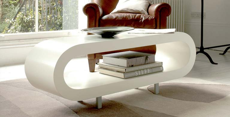 Cute designer furniture the loopy coffee table uwabplf