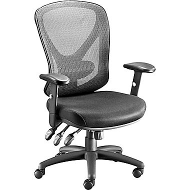 Cute desk chairs staples carder mesh office chair, black dzgnevs