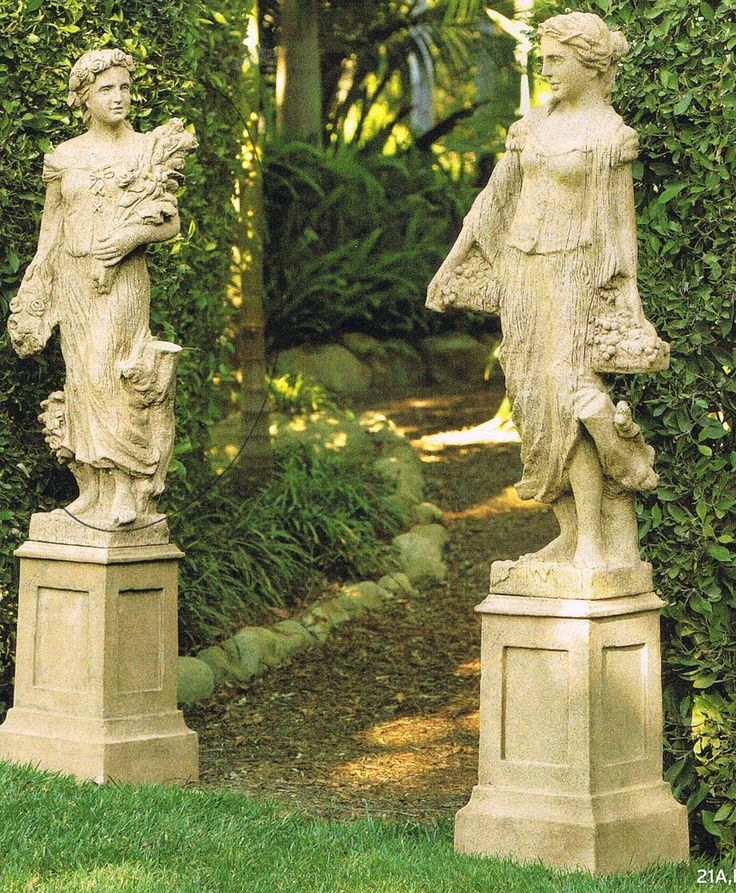 Cute garden statues garden statue placed on top of outdoor dining table view in gallery ebcmiec