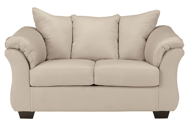 Cute loveseat sofa product shown on a white background. stone darcy sofa and loveseat ... nansubc