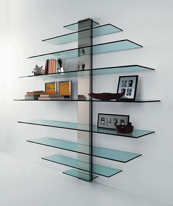 Cute new trend floating glass shelves - home design and decor ideas dqlcpny