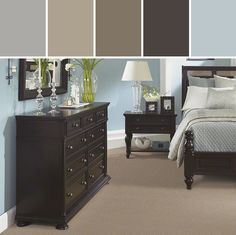 Cute what colors go with black bedroom furniture - yahoo image search results eivgopj