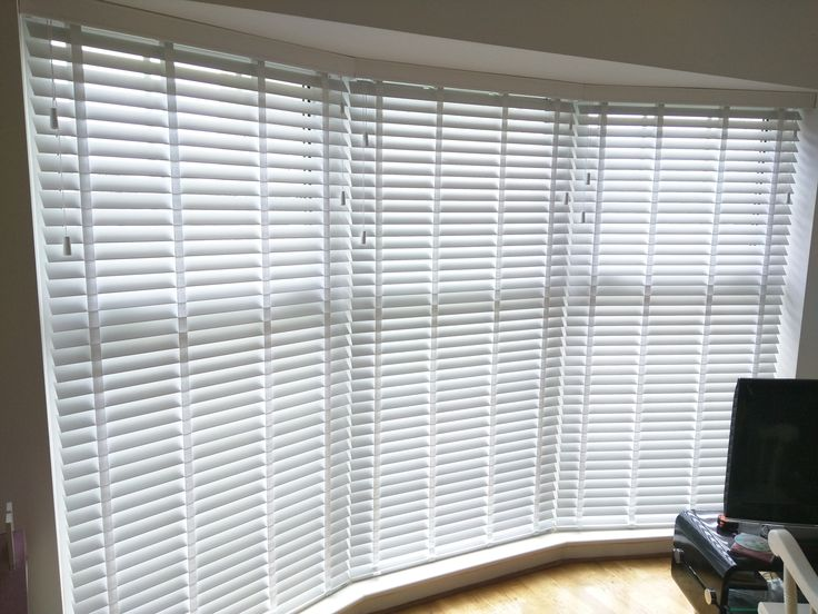 Cute window blinds wood venetian blinds with tapes | bay window | shoreham | living room rvqycjo