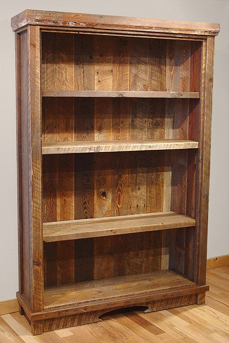 Cute wood bookcases 7 diy old rustic wood furniture projects icrlqrw