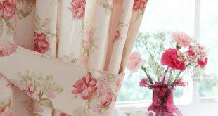 Decor Ideas vintage curtains floral curtains | floral curtains: these are reminiscent of a cute tea room pnwaurj