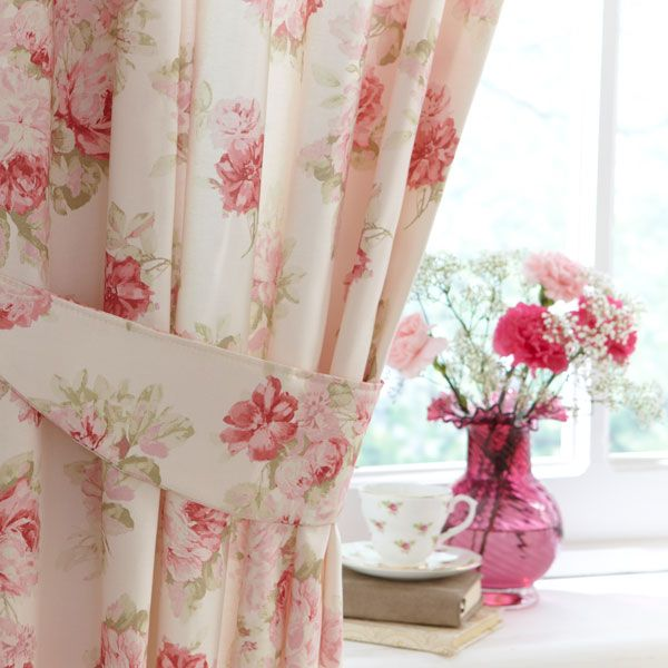 Refresh with the vintage curtains