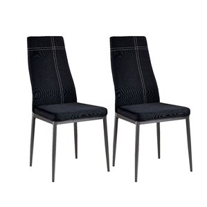 Design Ideas black dining chairs cerise modern wood upholstered dining chair (set of 4) dyuzlad