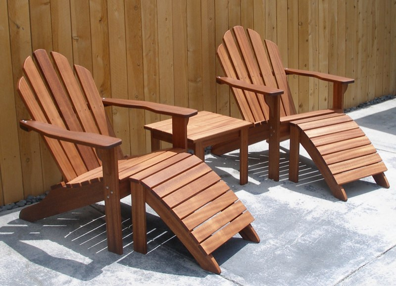 Decorating rooms an outfoor with adirondack furniture