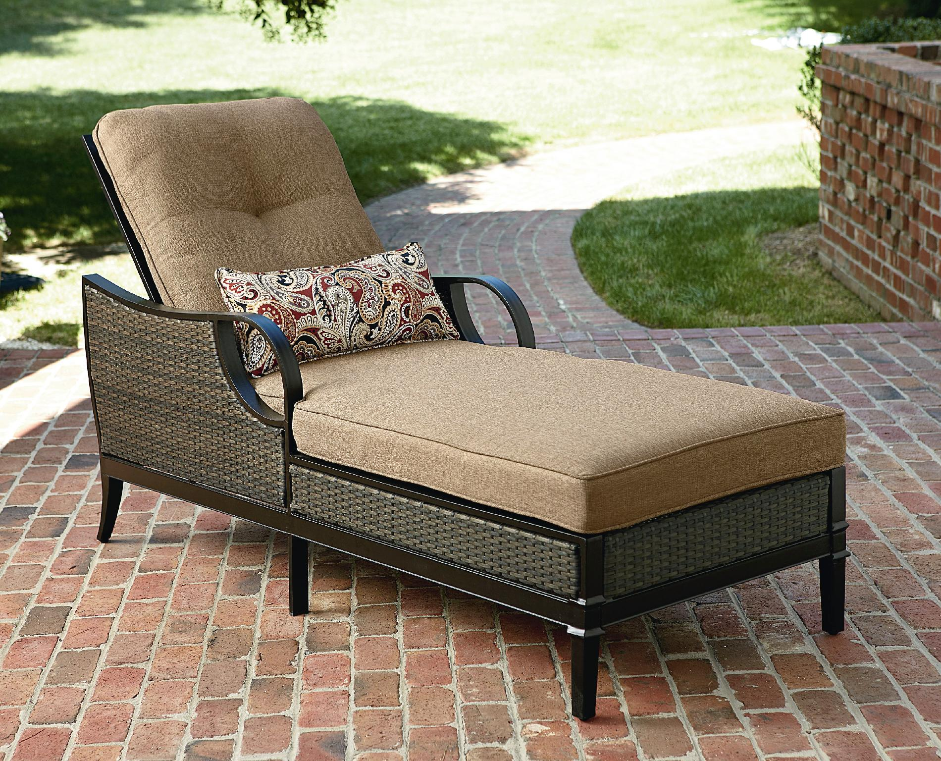 Elegant chaise lounge outdoor la-z-boy outdoor charlotte chaise lounge fnvmqyv