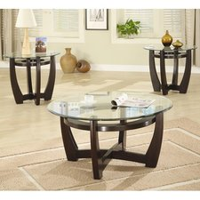 Elegant coffee table sets high west 3 piece coffee table with glass top set hklrnmq