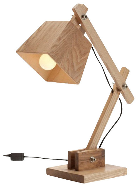 Elegant contemporary wooden bedside table reading lamps for bedroom  contemporary-desk-lamps oyvnovt