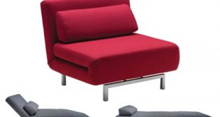 Elegant futon chair s_chair_convertible_chairbed_red rfnoxtd
