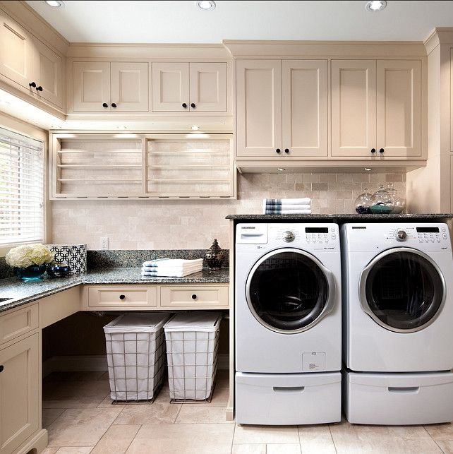 Elegant laundry room cabinet design. i am loving the cabinets in this laundry room. zkmcepl