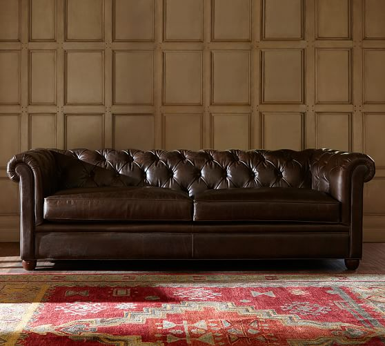 Elegant leather chesterfield sofa alternate view · alternate view ... kbpdkpc