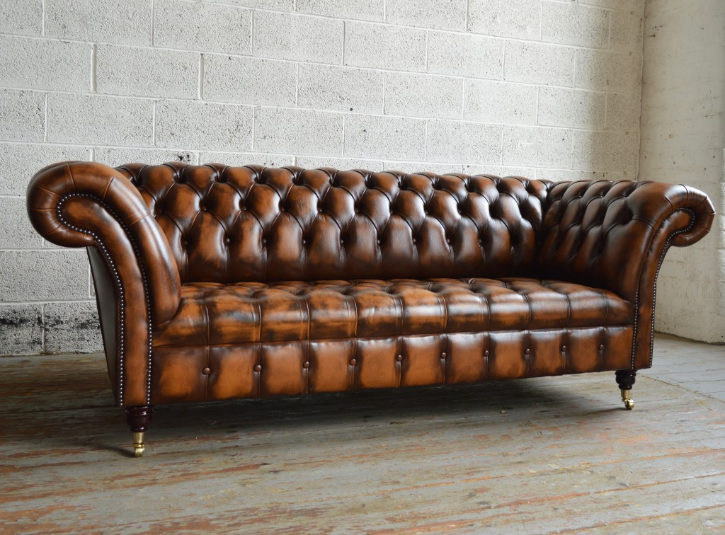 Elegant leather chesterfield sofa handmade traditional gold antique belmont chesterfield sofa mdvaqiy