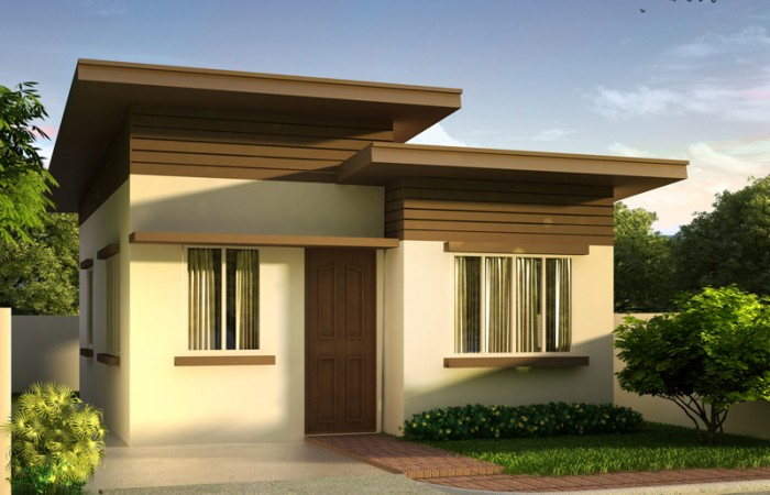 Elegant small house design ... the bedroom side thereby also maximizing the lot. with this style npjqead