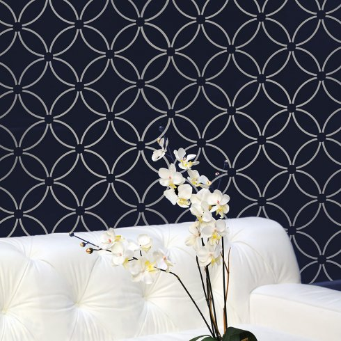 Elegant stencils for walls wall stencils visuber