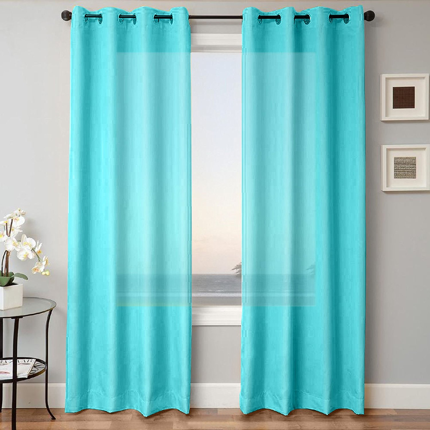 Pros of buying turquoise curtains