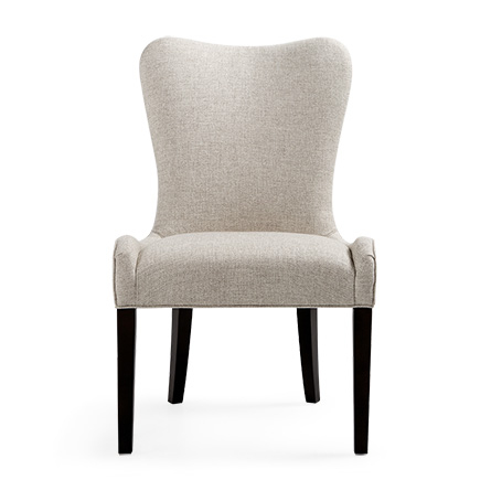 Elegant upholstered dining chairs patton 25 oambyvl