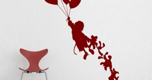 Elegant wall decals for kids child with teddy bears - wall . xryjftb