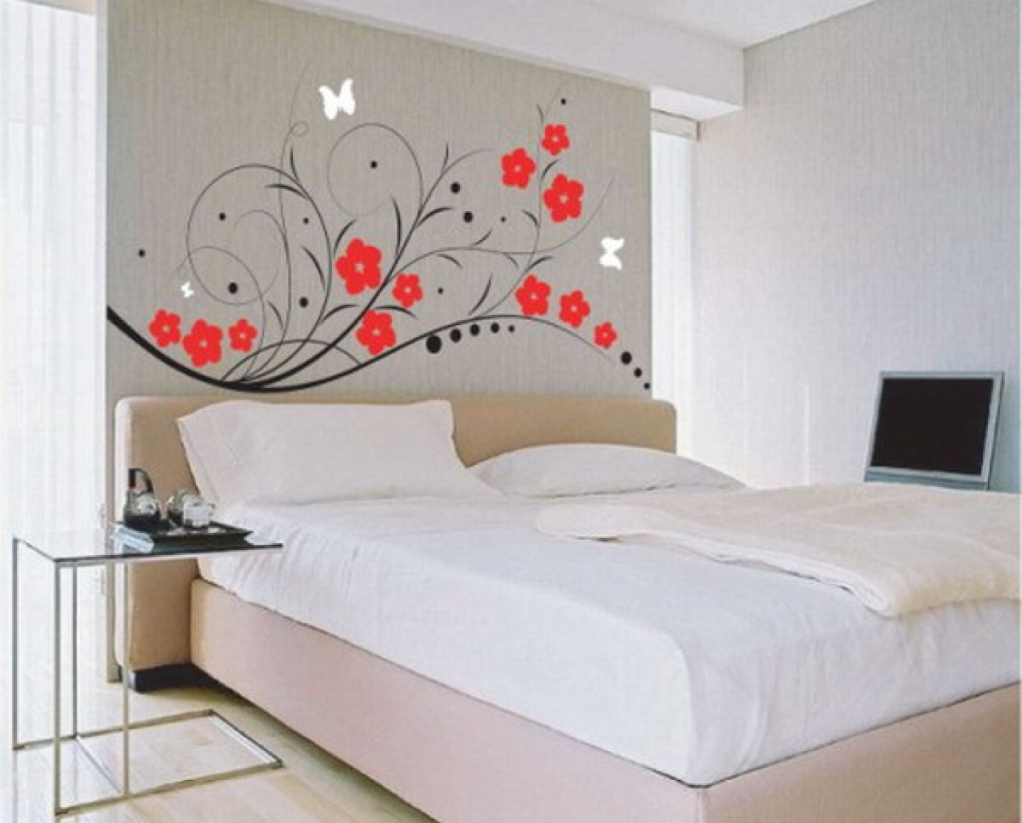 Elegant wall stickers for bedrooms image of: wall stickers bedroom vregwua