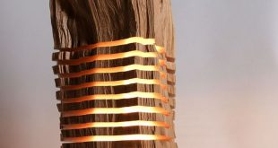 Elegant wood lamp sliced lamps made from real firewood show the beauty of simple things ncwejzb