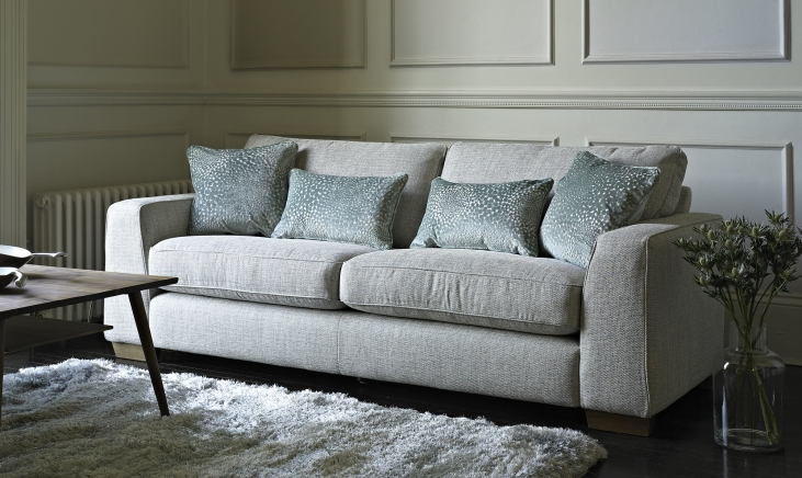 Fabric sofa for decorating your home