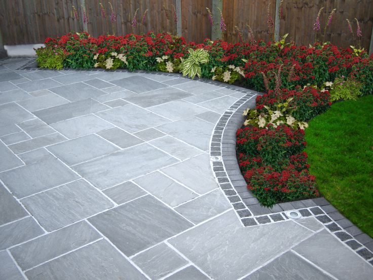 Excellent driveway ideas tile u0026 border. i would prefer a contrasting color on the border. driveway pltints