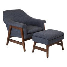 Excellent hankerson lounge chair and ottoman lyostlg