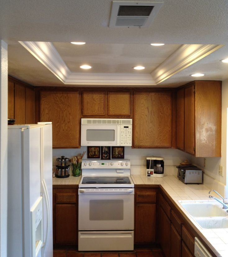 Get the best décor for your kitchen by installing kitchen ceiling lights