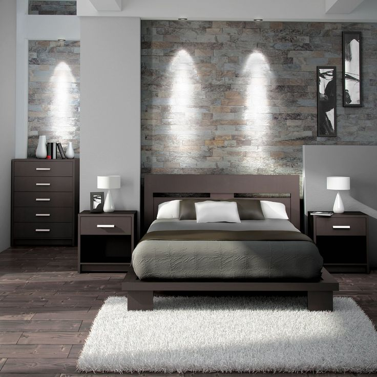 Excellent modern bedrooms a simple and modern bedroom set in espresso brown. itu0027s made with a apeqzdd