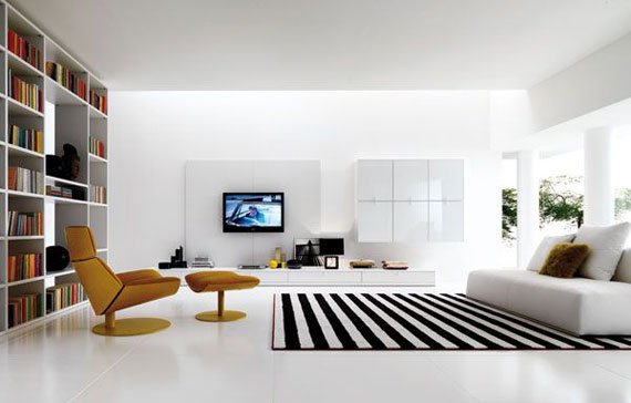 Excellent room interior design white-and-black-livingroom how to create amazing living room designs (37 mdlwutz