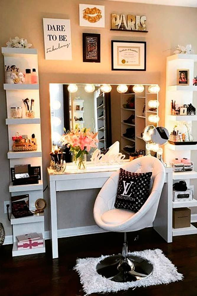 Fashionable 21 makeup vanity table designs muvcmyg