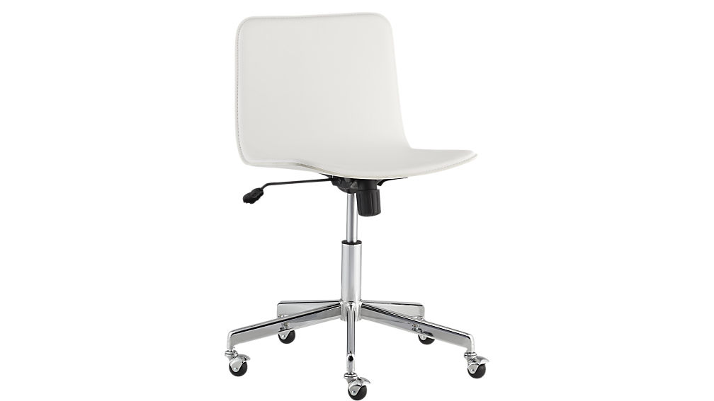 Fashionable ... form white office chair ... bfunvda